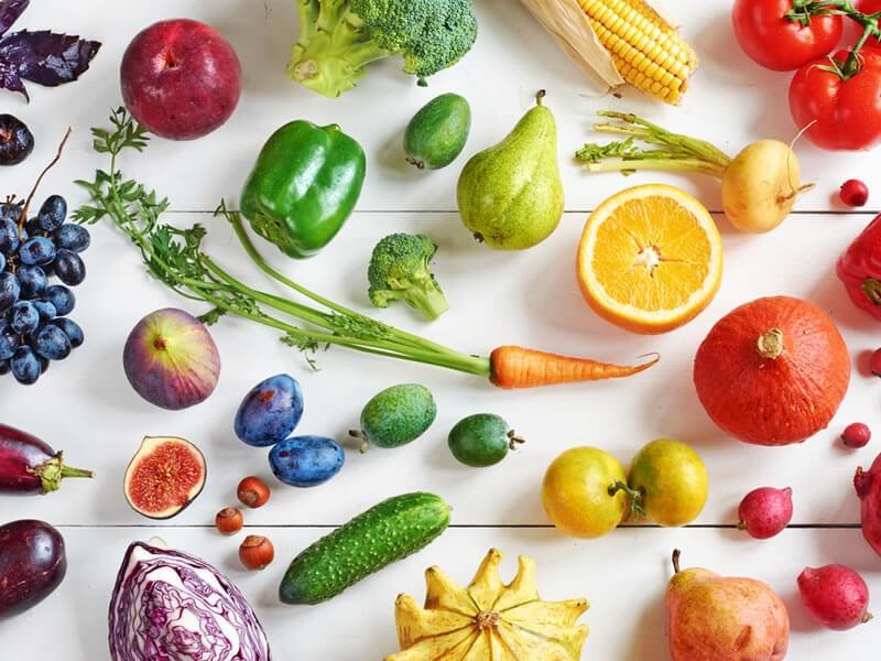 corbeilles fruit et légumes